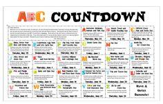 Primary Princesses: ABC Countdown