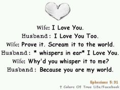 Inspirational Quote about marriage.  For the romantic in me, masha'Allah.