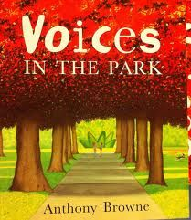 "It is an absolute perfect choice for teaching Point of View and Character Traits. There are 4 very distinct ""voices"". A little boy, his mother, a little girl, and her father and also the dogs."