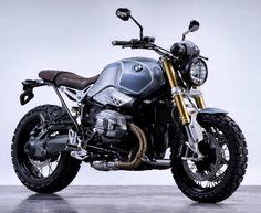 """BMW R NineT """"Brooklyn #Scrambler"""" by Boxer Design"""