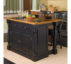 1000 Images About Kitchen Islands On Pinterest Black Kitchen Island Kitchen Islands And Lowes
