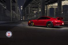 All sizes | Carmine Red Porsche 911 GT3 with HRE P106 in Gloss Black - C3Pics (4) | Flickr - Photo Sharing!