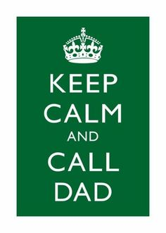 Every time I see this it makes me chuckle, cause I don't know how many times I have had to do this.  Love my Daddy!