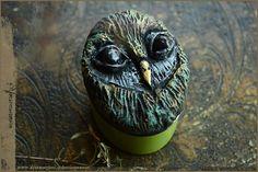 OWL garden Orange Levendel  natural solid perfume di Vocisconnesse
