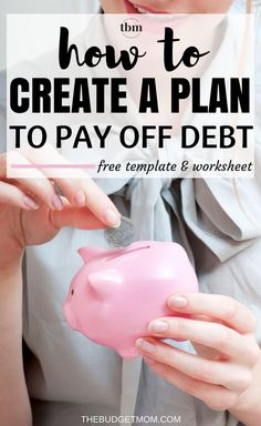 It's time to start living without the burden of debt. Here is a step-by-step guide on how to start paying it off. Debt | Tips | Personal Finance | How to Get | Frugal via /thebudgetmom/