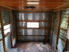 In this video we gut our camper and strip the paint. How to gut a camper renovation Home Made Camper Trailer, Camper Trailer Australia, Teardrop Camper Trailer, Camper Trailers, Vintage Campers Trailers, Motorcycle Camper Trailer, Vintage Camper Interior, Build A Camper, Travel Trailer Remodel