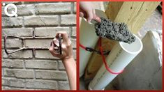 Diy Home Repair, Home Repairs, The Creator, Hacks, Construction, Cement, Building, Youtube, Projects