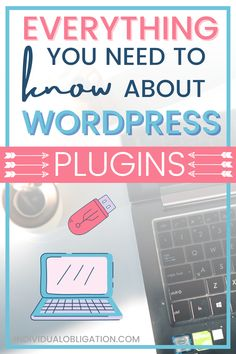 This WordPress blogging for beginners tutorial will show you the blog tips + basics you need to know about for using WordPress plugins on your new blog. WordPress plugins are powerful blogging tools + resources that every blogger should know about to start a blog. If you are planning on starting a blog on WordPress then this guide is a must-have to master these blog and WordPress blogging tips for beginners #Blogging #BloggingForBeginners #WordPressTips #BlogTips #WordPressPlugins #WebsiteTips Wordpress Website Design, Blogger Tips, Wordpress Plugins, Blogging For Beginners, Affiliate Marketing, How To Start A Blog, Tools, Seo Tips, Writing