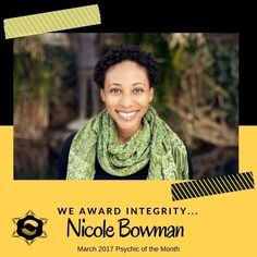 When you receive a reading with Nicole you are connecting with a genuine Intuitive and Psychic-Medium who sees feels and discerns information from the spirit world. She will use her abilities to assist you and help you create the life you want.  We award INTEGRITY. -----> http://ift.tt/28Y7IX0  #nicolebowman #intuitive #bap #bestamericanpsychics #shayparker #integrity #ethics #professional #training #dedication #commitment #spiritualcounselor #psychic #psychicreadings #chakras…