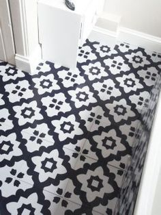 Black And White Kitchen Vinyl Flooring victorian tile design vinyl flooring sheet non slip lino kitchen