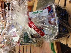 """Celebrate Local's Ruthie the """"Gift Basket Guru"""" can personalize baskets to please every palette. Offering over 200 local vendors' goods, as well as the option to add other purchases to your basket! Pricing to match your budget!"""