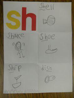 Mrs. T's First Grade Class: sh Activities