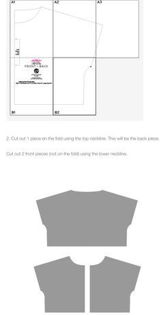 Easy cropped jacket pattern