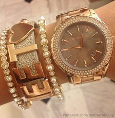 Love the watch!  Michael Kors