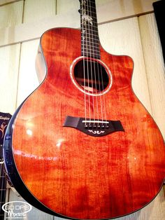 Check out this beautiful Taylor Guitars custom Grand Symphony Cutaway Acoustic Electric Guitar