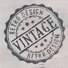 I like the vintage/retro vibe of this logo. Also that it is a stamp. Vintage Stamps, Vintage Labels, Vintage Prints, Vintage Posters, Silkscreen, Etiquette Vintage, Custom Stamps, Tampons, Retro Design
