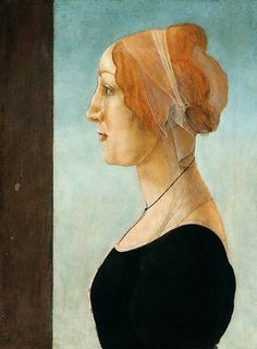 Женский портрет. Сандро Боттичелли