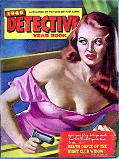 PETER DRIBEN - Catching the Thief - Detective Yearbook 1949