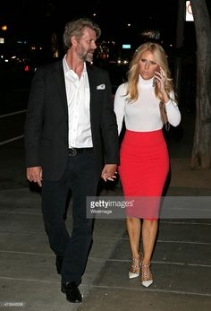 Slade Smiley and Gretchen Rossi attend Bravo's 'Real Housewife of Miami' Lea Black's book signing and after party on June 4, 2015 in West Hollywood, California.