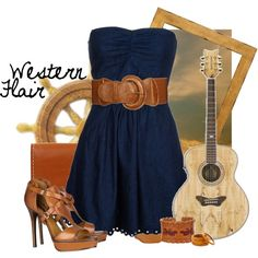 western flair  ang, also if you wore this, i would die!!! hehehe. esp those shoes! i would be so proud!