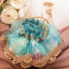 Diy Wedding Decorations, Festival Decorations, Handmade Decorations, Trousseau Packing, Potli Bags, Simple Sarees, Bridal Clutch, Luxury Bags, Retro