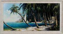 Bali Cove - Coastal Framed Print - Visit our showroom in or to see these prints. Coastal Art, Modern Coastal, Mt Pleasant Sc, Framed Wall Art, Framed Prints, Coastal Furniture, Art Store, Furniture Styles, City Art
