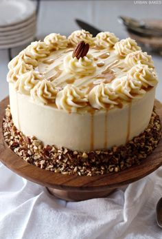 "confectionerybliss: ""Bourbon Chocolate Layer Cake • BHG Delish Dish """
