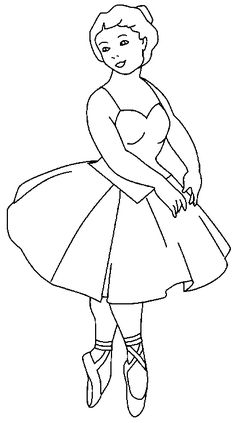 printable ballet coloring pages for kids