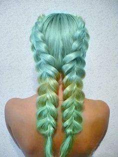 mermaid hair - Google Search