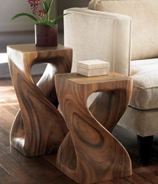 These side tables are gorgeous... want!