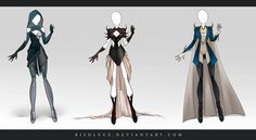 (OPEN) Adoptable Outfit Auction 41 by Risoluce.deviantart.com on @DeviantArt