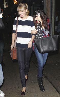 At Osteria La Buca with Selena Gomez   West Hollywood   November 17 2012