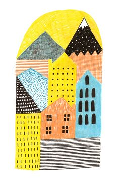 Abbey Withington Printed Textiles. So so beautiful.