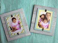 DIY Wood Picture Frames diy