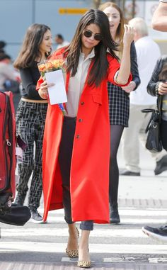 Selena Gomez from The Big Picture: Today's Hot Pics  The singer appearsatHeathrow Airport in London.
