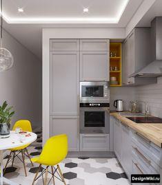 9 X 9 Kitchen Design Ikea Kitchen Design, Luxury Kitchen Design, Kitchen Cabinet Design, Home Decor Kitchen, Interior Design Kitchen, Kitchen Furniture, Cosy Kitchen, Kitchen Floor Plans, Decoration