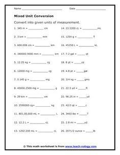21 Best megs metric conversion images   Metric conversion ...