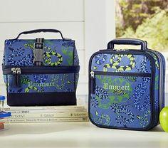 Mackenzie Blue Snake Lunch Bags