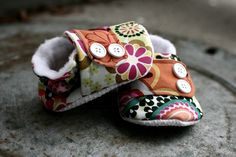 Loving these baby booties!