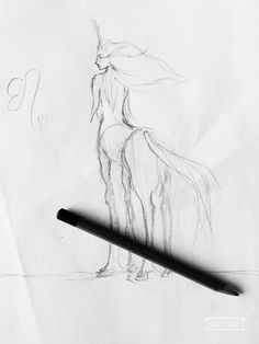 Centaurs are pretty hard to draw... This is my art, hope y'all enjoy! ~Noelle
