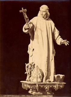 Statue de Saint Bruno - Jean Laurent