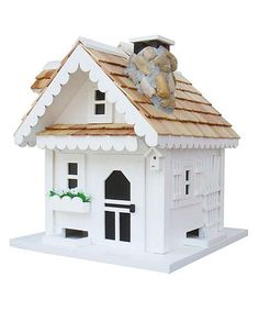 White Tranquility Bird Feeder