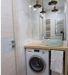 Bathroom Shelves Modern Laundry Rooms Ideas For 2019 Tiny House Bathroom, Laundry In Bathroom, Bathroom Design Small, Bathroom Interior Design, Bathroom Shelves, Ikea Bathroom, Boho Bathroom, Industrial Bathroom, White Bathroom