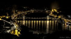Budapest, the Danube at night by Norbert Tukora on 500px