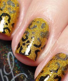 Leopard Nails - grad