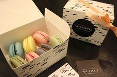"Meri Mort, Helsinki, Finland based illustrator/graphic designer. Visual identity for a bakery ""Patisserie Teemu & Markus""."