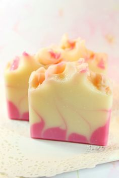 Romantic soaps - recipes included - further down page