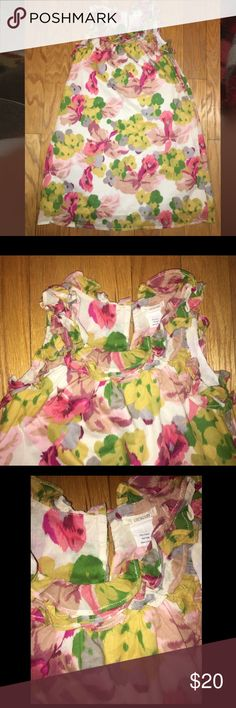 Crewcut by J.Crew girls size 8 Dress Absolutely adorable and in great pre-owned condition. Girls size 8 Crewcuts flowered dress. Crewcuts by J.Crew Dresses