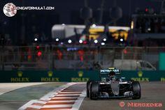 """Rosberg: """"Hoy he hecho un buen trabajo, pero no tanto como Lewis""""  #F1 #AbuDhabiGP"""