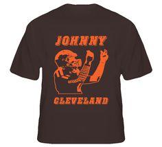 Johnny Cleveland Football T Shirt - Cleveland Browns Johnny Manziel #johnnyfootball #johnnycleveland #clevelandbrowns #brownsfootball #manziel